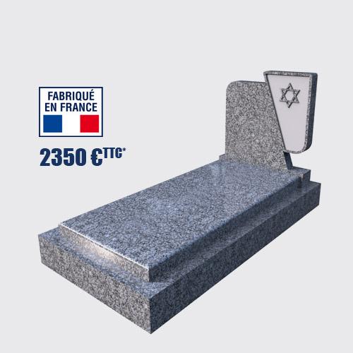 Pierre tombale israélite pas cher